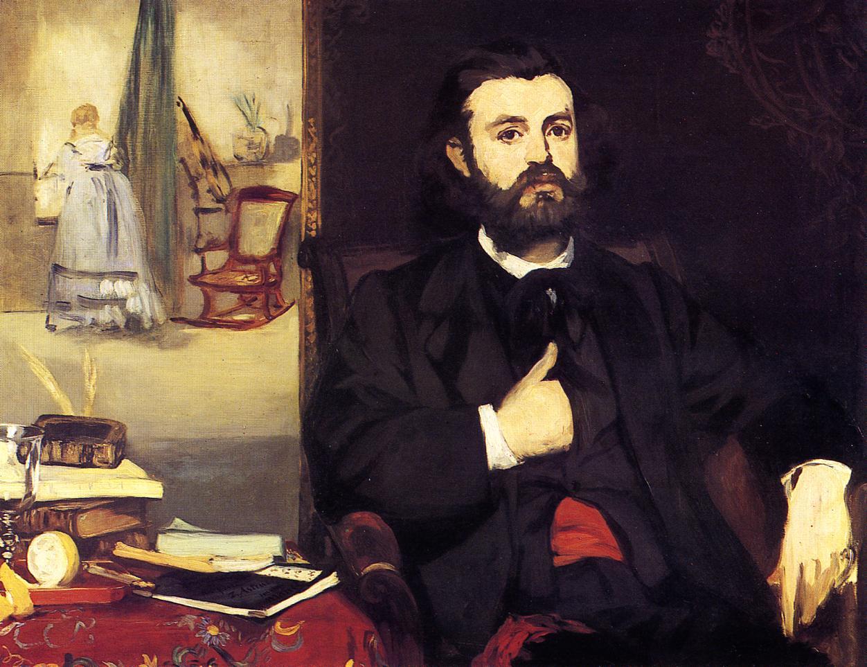 Portrait of Zacharie Astruc 1866 | Edouard Manet | Oil Painting