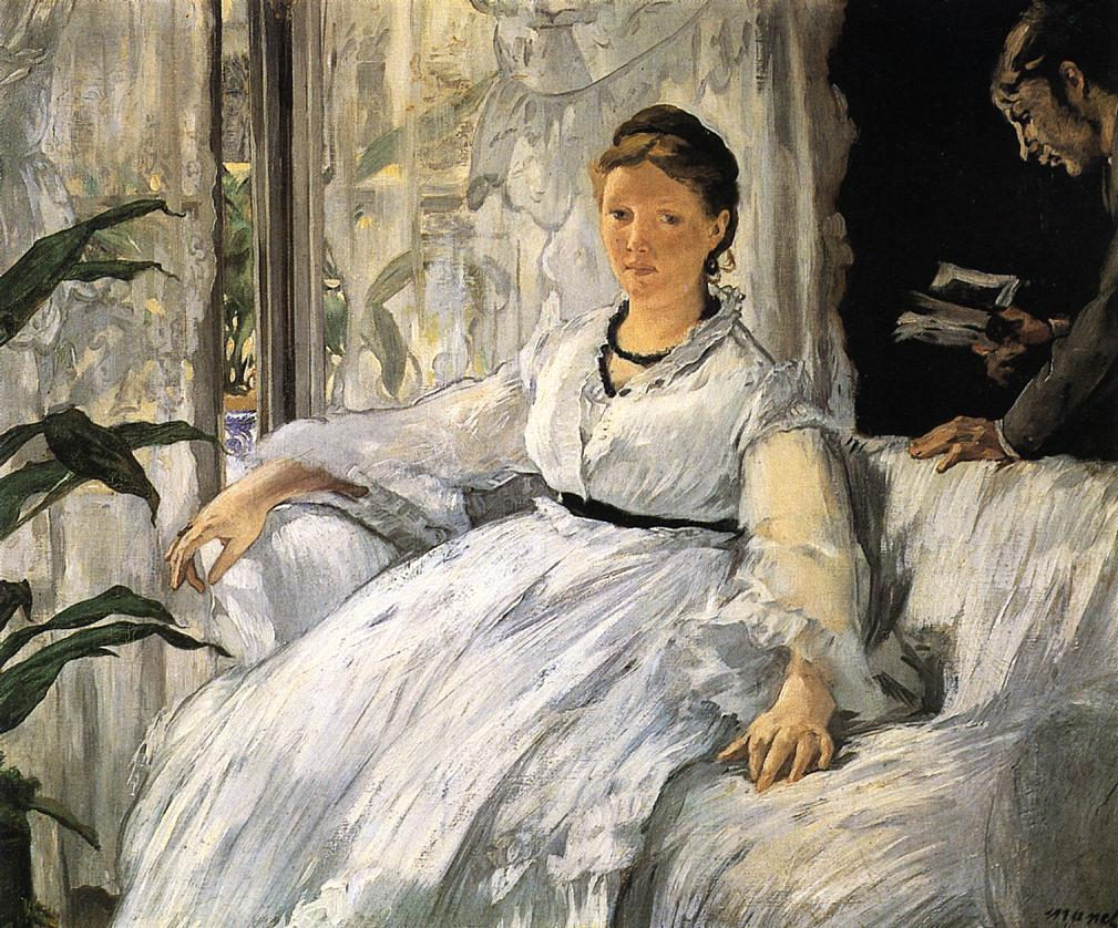 Reading 1865 1873 | Edouard Manet | Oil Painting