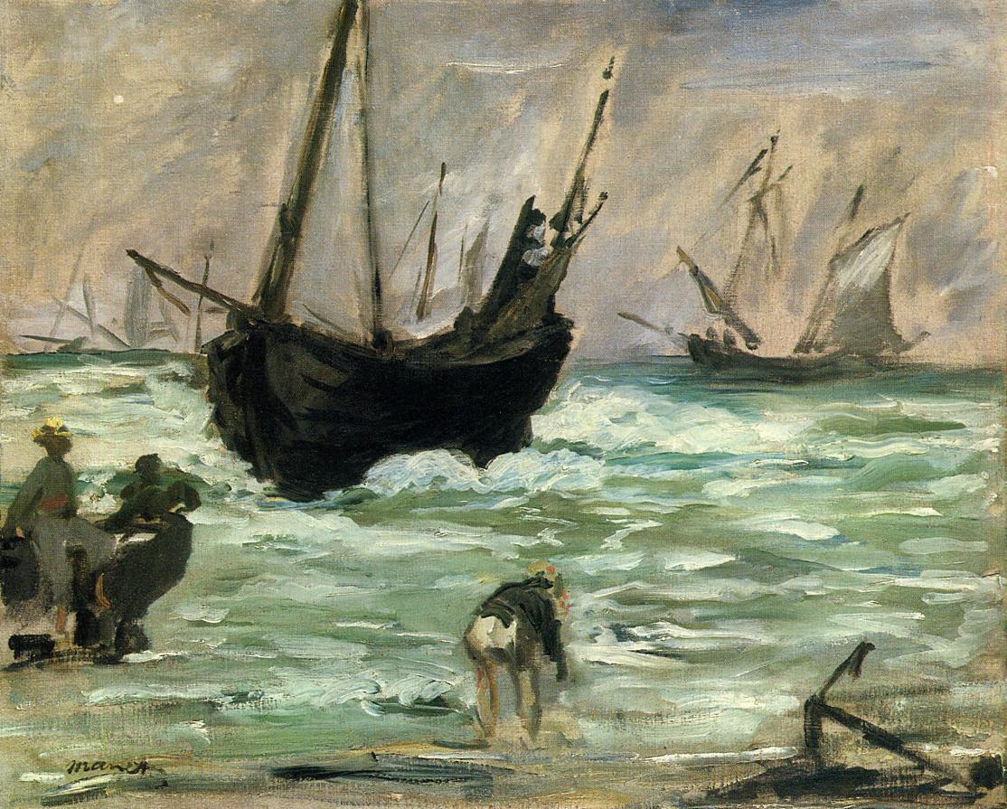 Seascape 1873 | Edouard Manet | Oil Painting