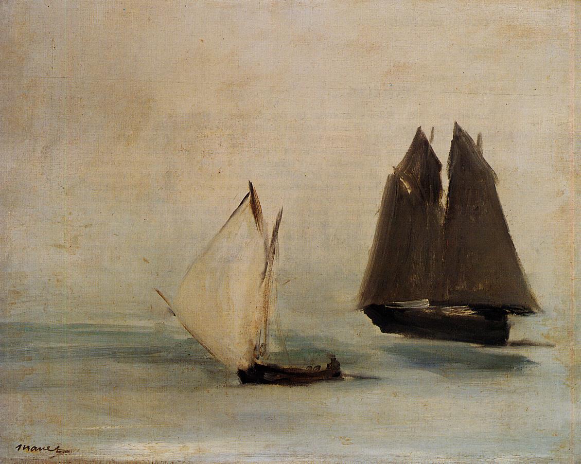 Seascape 1869 | Edouard Manet | Oil Painting