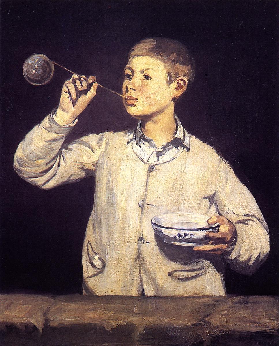 Soap Bubbles 1867 | Edouard Manet | Oil Painting