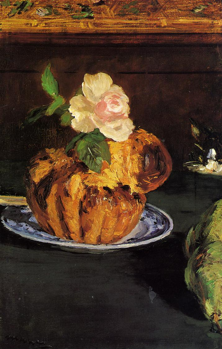 Still Life with Brioche 1880 | Edouard Manet | Oil Painting