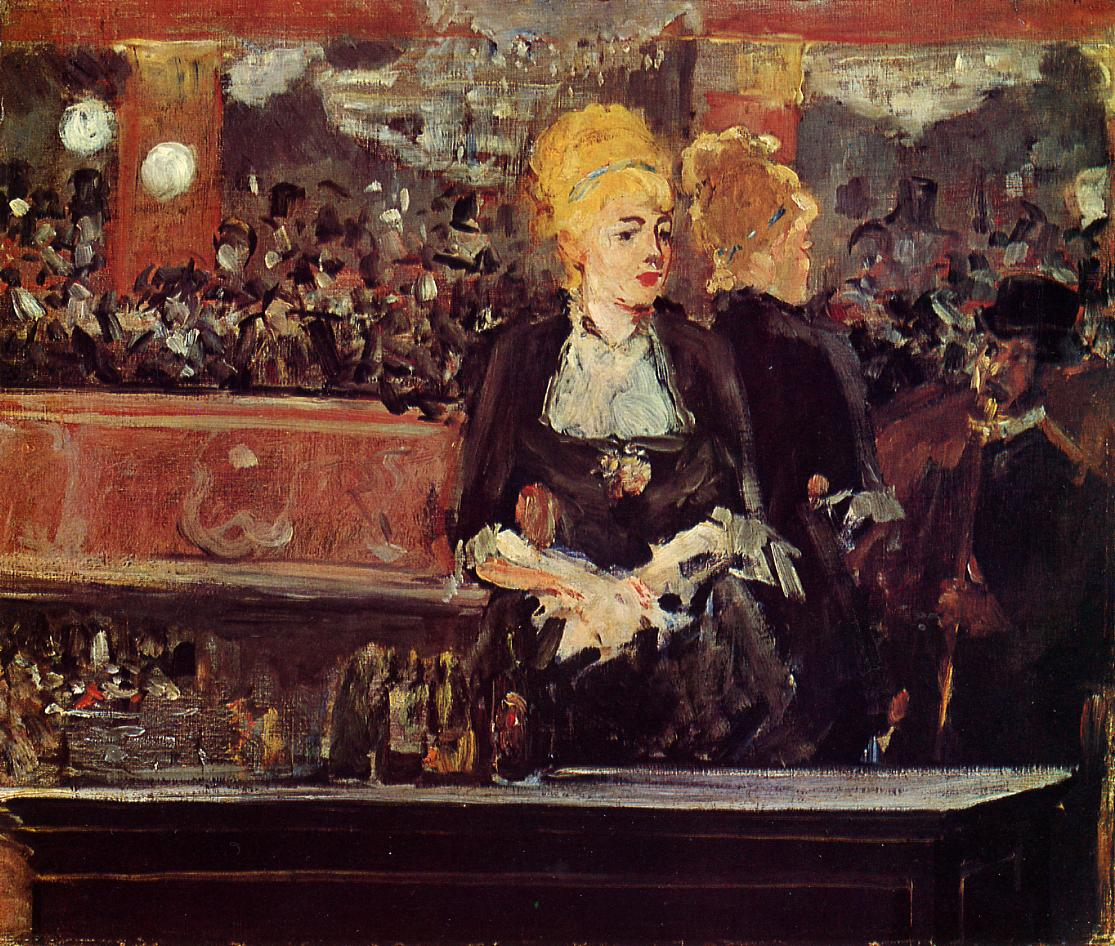 Study for A Bar at the Folies-Bergere 1881 | Edouard Manet | Oil Painting