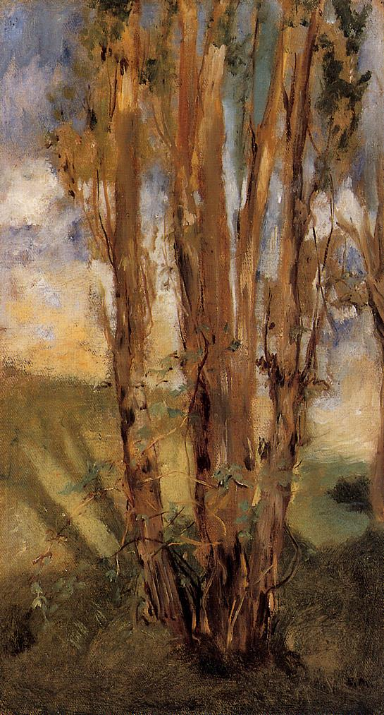 Study of Trees 1859 | Edouard Manet | Oil Painting