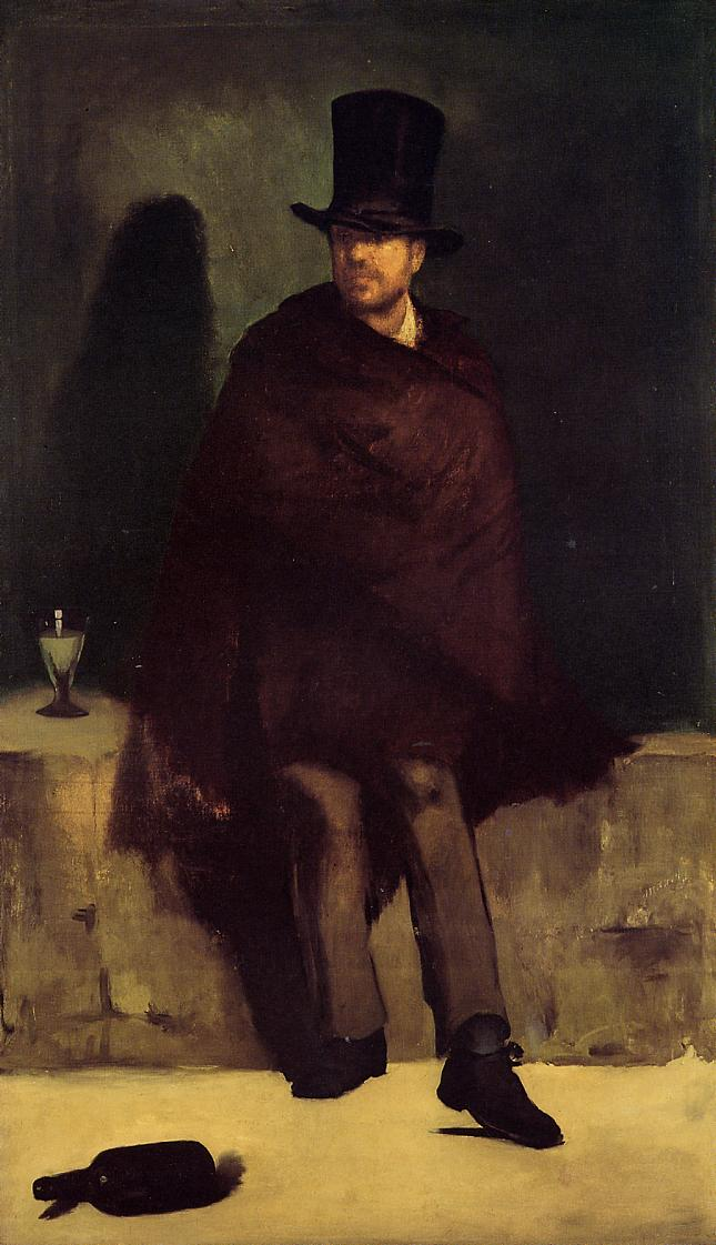 The Absinthe Drinker 1858 1859 | Edouard Manet | Oil Painting