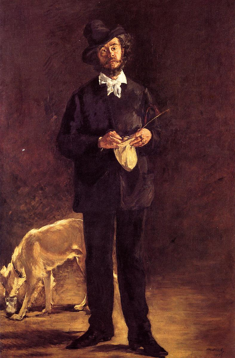 The Artist 1875 | Edouard Manet | Oil Painting
