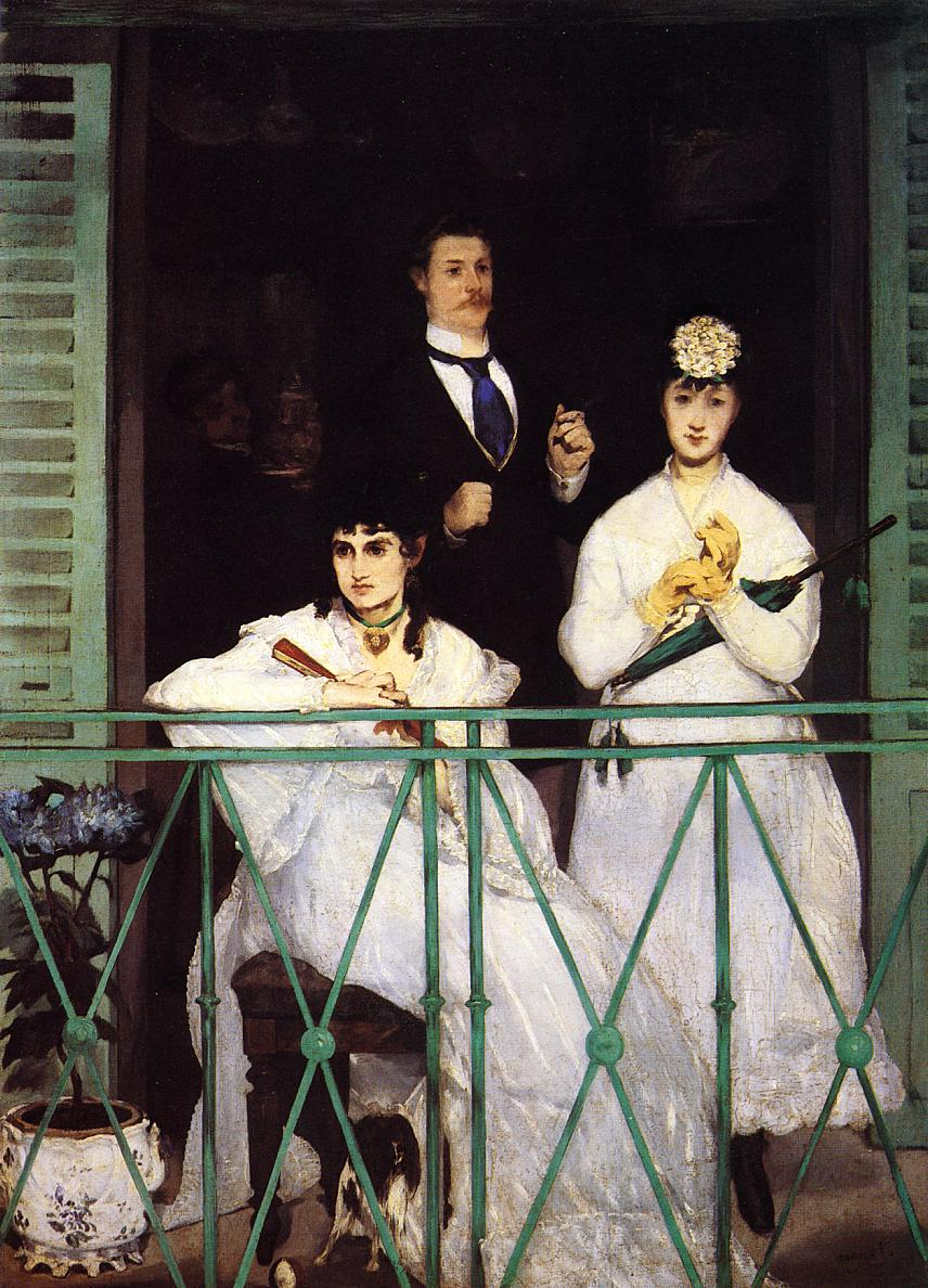 The Balcony 1868 1869 | Edouard Manet | Oil Painting