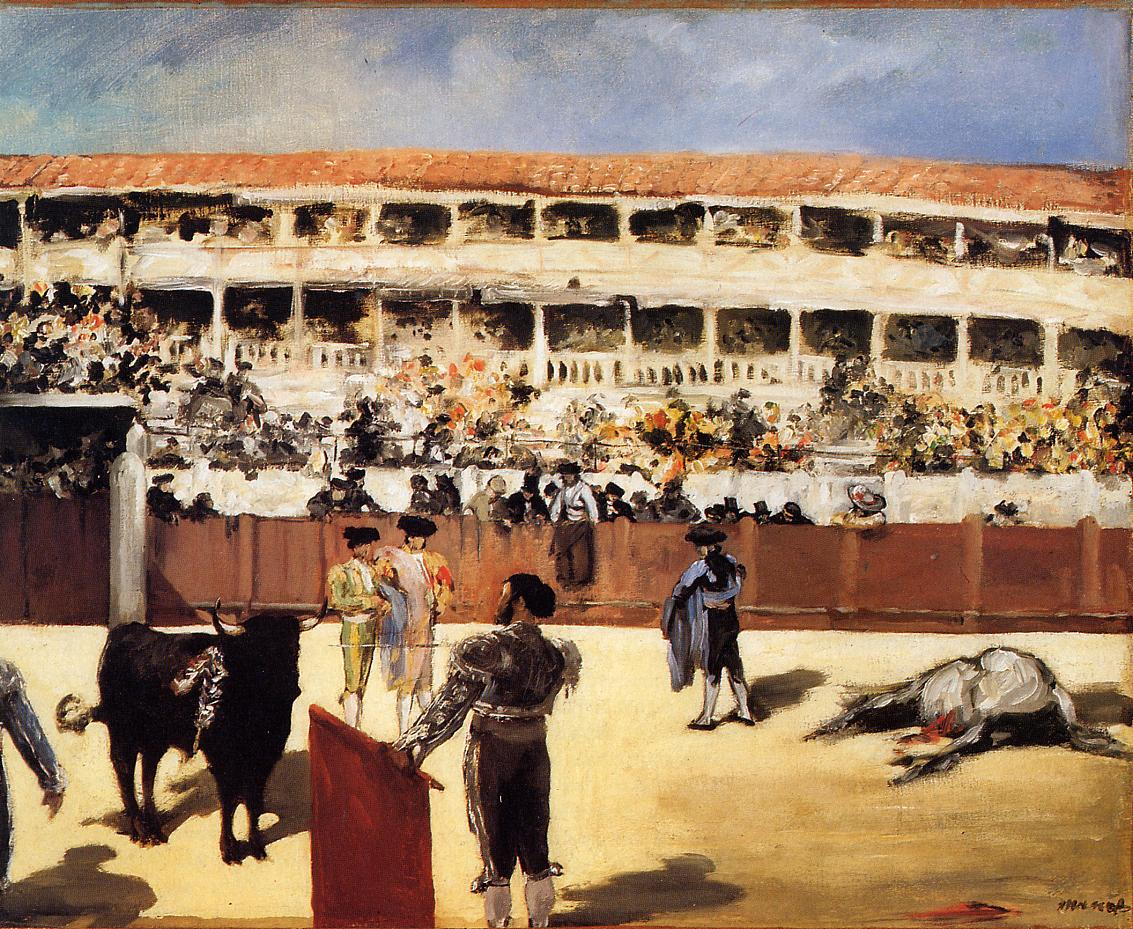 The Bullfight 1865 | Edouard Manet | Oil Painting