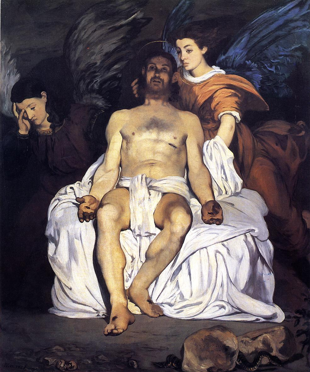 The Dead Christ and the Angels 1864 | Edouard Manet | Oil Painting