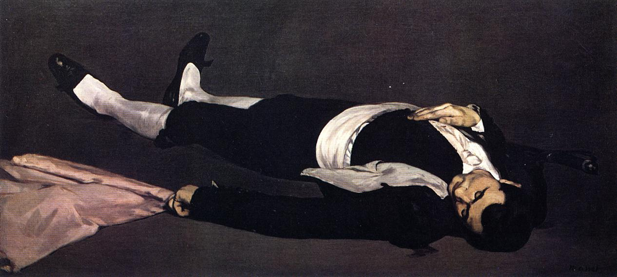 The Dead Toreador (aka The Dead Man) 1864 1865 | Edouard Manet | Oil Painting