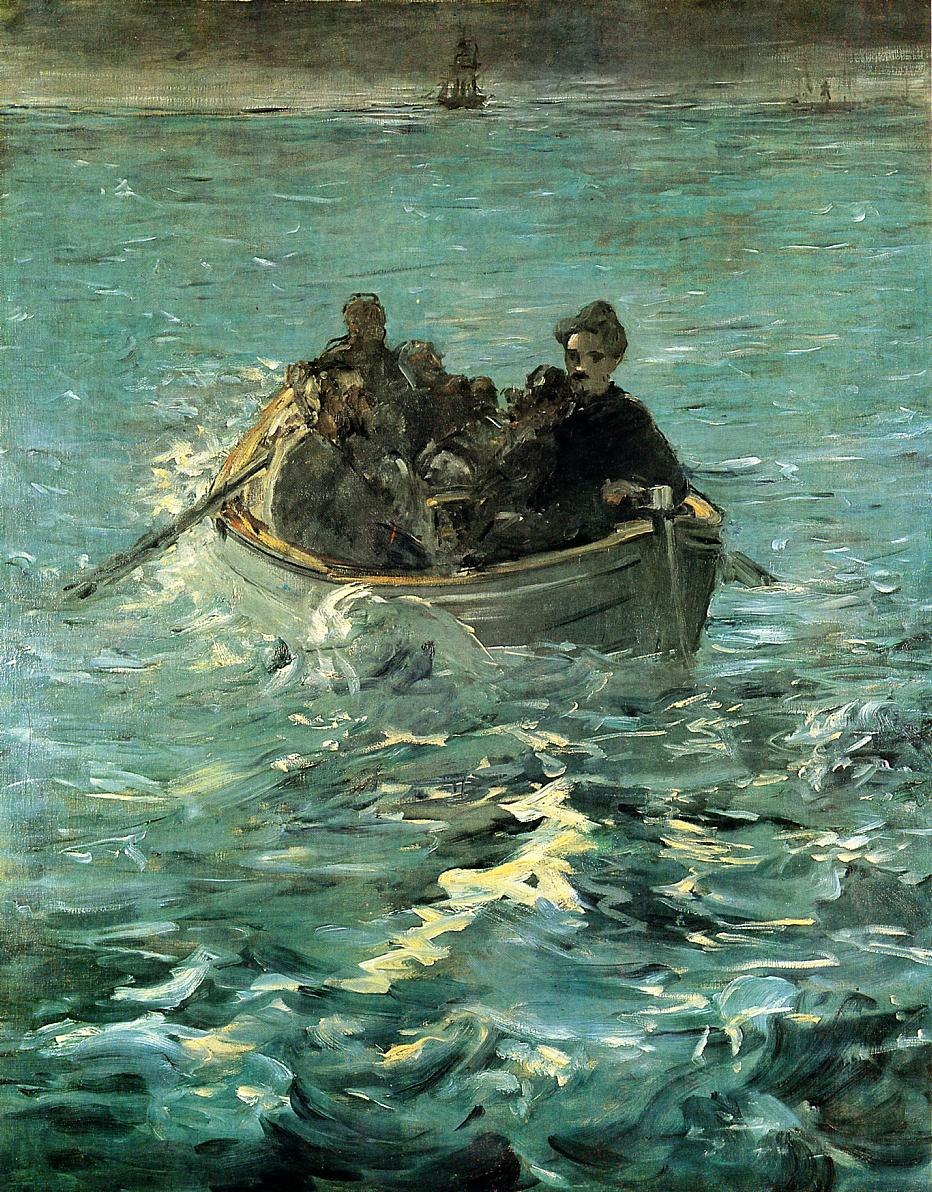 The Escape of Rochefort 1880 1881 | Edouard Manet | Oil Painting