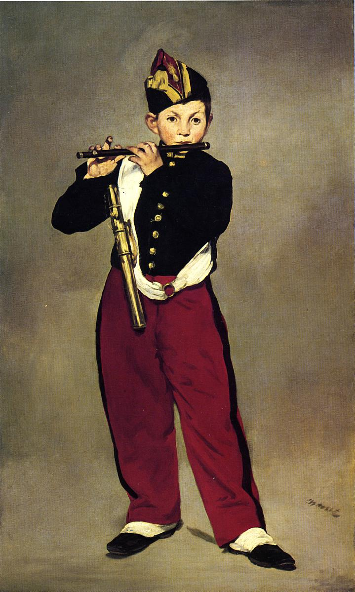 The Fifer 1866 | Edouard Manet | Oil Painting