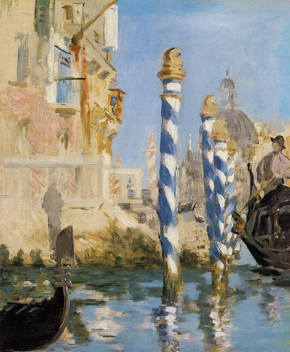 The Grand Canal Venice 1874 | Edouard Manet | Oil Painting