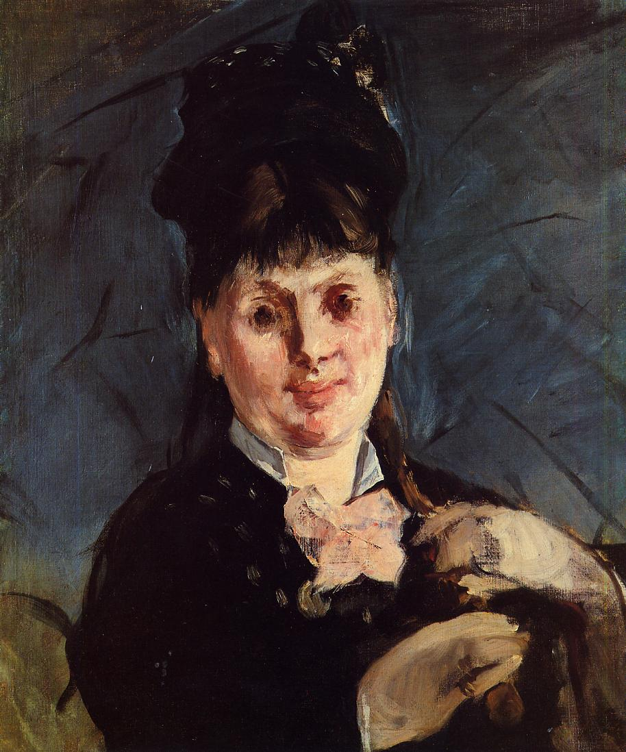 Woman with Umbrella 1875 | Edouard Manet | Oil Painting