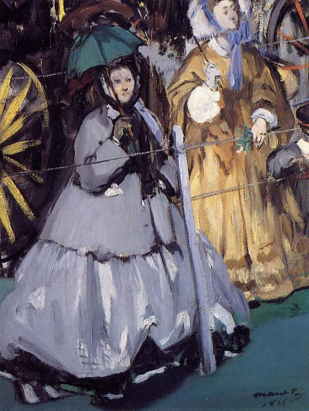 Women at the Races 1865 | Edouard Manet | Oil Painting