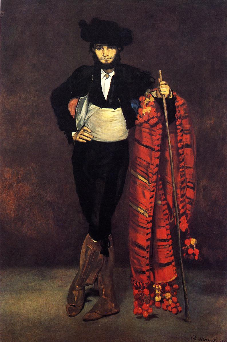 Young Man in the Costume of a Majo 1863 | Edouard Manet | Oil Painting