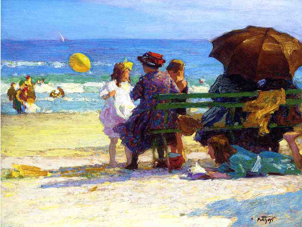 A Family Outing | Edward Potthast | Oil Painting