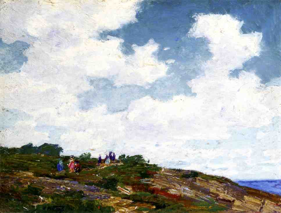 A Summer Day | Edward Potthast | Oil Painting