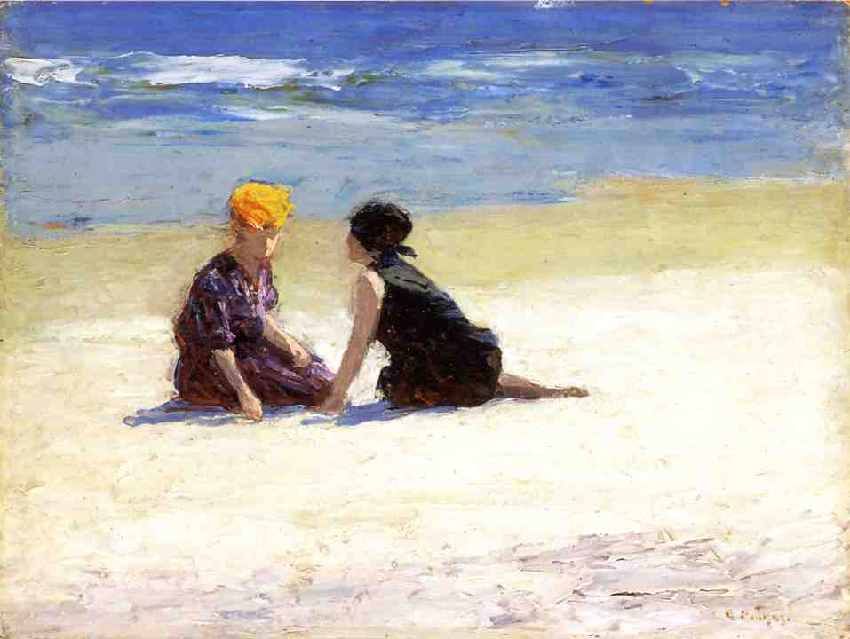 Coney Island 1914 2 | Edward Potthast | Oil Painting