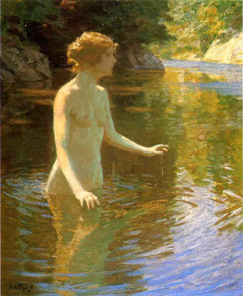 Enchanted Pool | Edward Potthast | Oil Painting