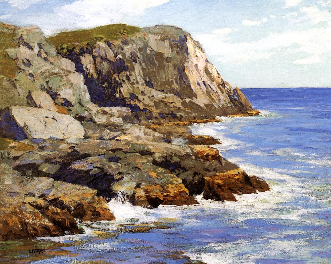 Monhegan | Edward Potthast | Oil Painting