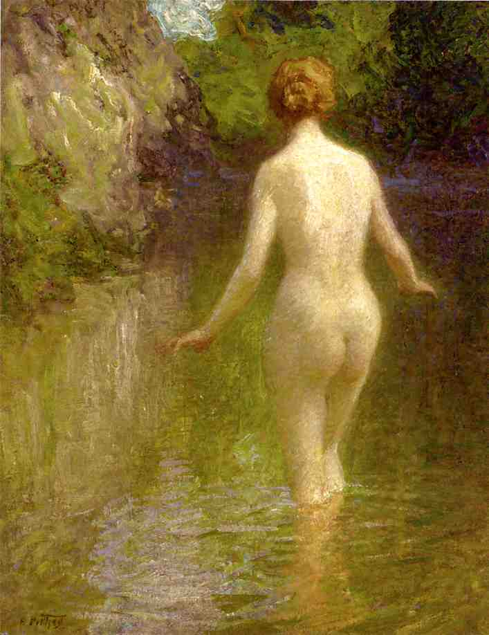Nude | Edward Potthast | Oil Painting
