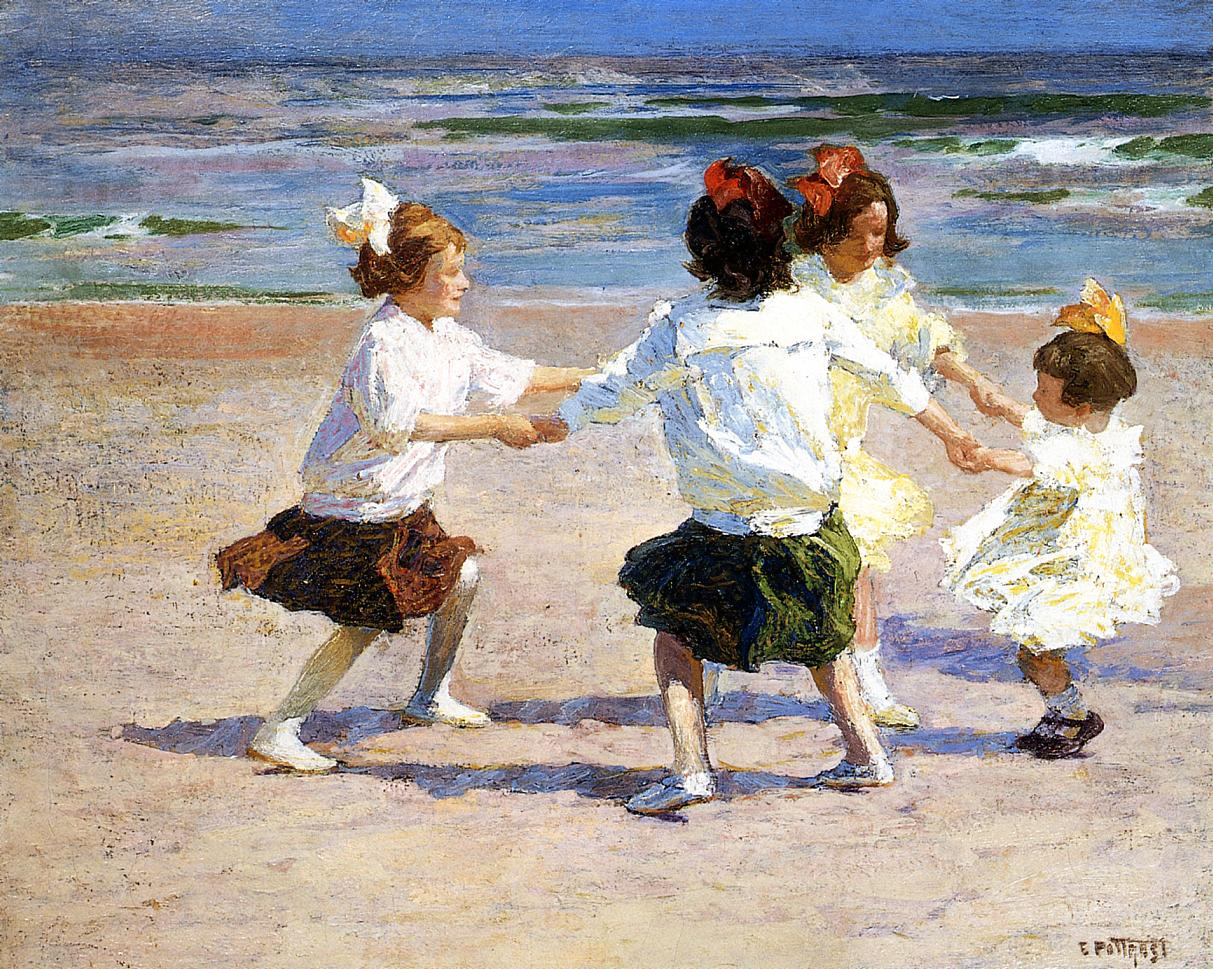 Ring around the Rosy | Edward Potthast | Oil Painting
