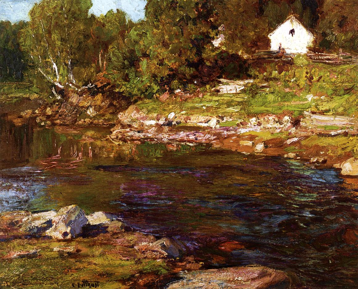 Souvenir of Canada | Edward Potthast | Oil Painting