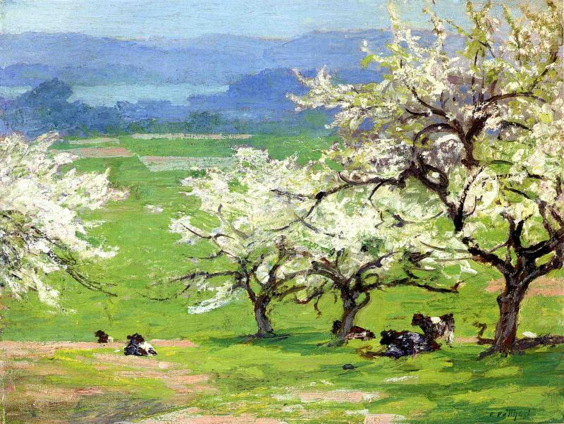 Springtime | Edward Potthast | Oil Painting