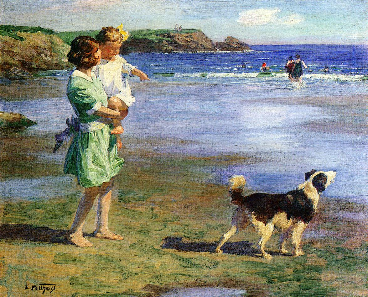 Summer Pleasures | Edward Potthast | Oil Painting