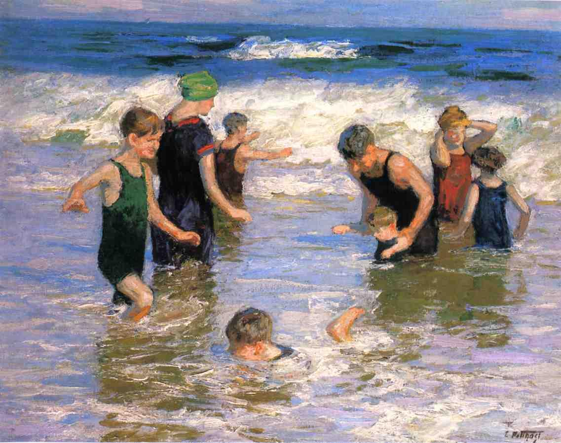 The Bathers | Edward Potthast | Oil Painting
