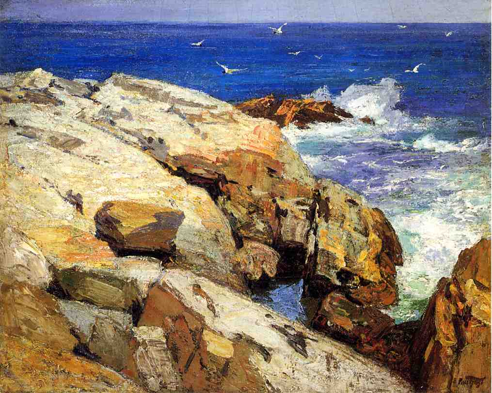 The Maine Coast | Edward Potthast | Oil Painting