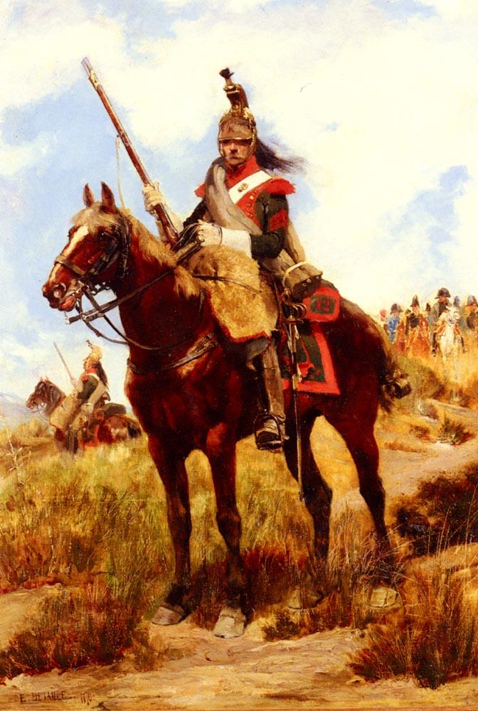 Artilleur A Cheval | Eduard Detaille | Oil Painting