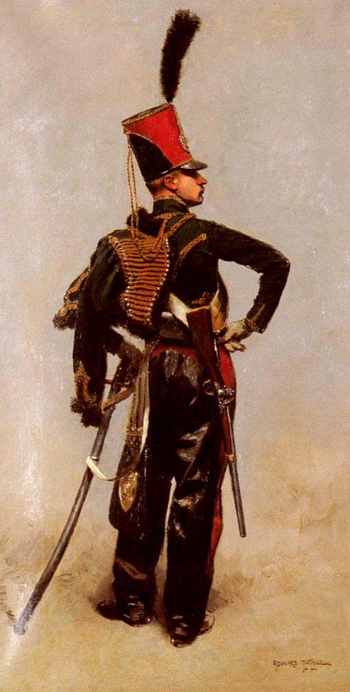 A Napoleonic Officer | Eduard Detaille | Oil Painting