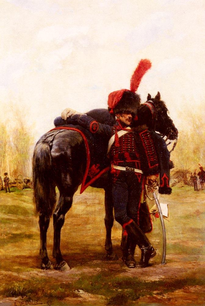 Le Dragon D Espagne | Eduard Detaille | Oil Painting