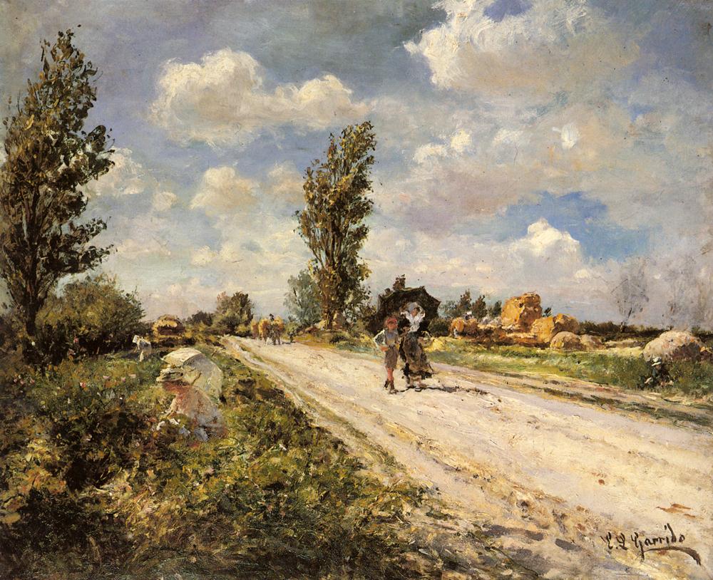 A Summer Day | Eduardo Leon Garrido | Oil Painting