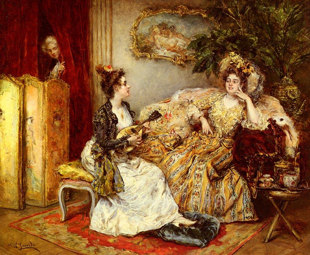 The Serenade | Eduardo Leon Garrido | Oil Painting
