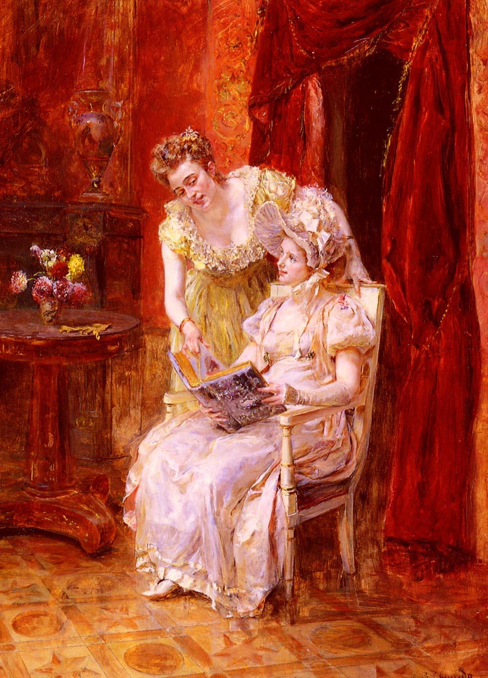 The Sketchbook | Eduardo Leon Garrido | Oil Painting