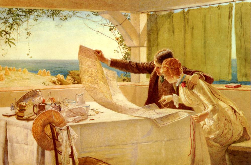The Honeymooners | Edward Brewtnall | Oil Painting