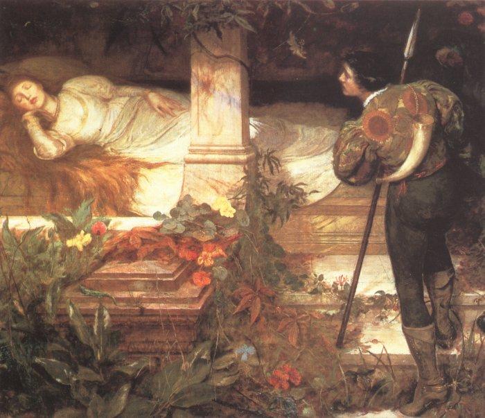 Sleeping Beauty | Edward Brewtnall | Oil Painting