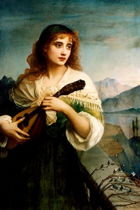 Francesca   Edward Charles Halle   Oil Painting
