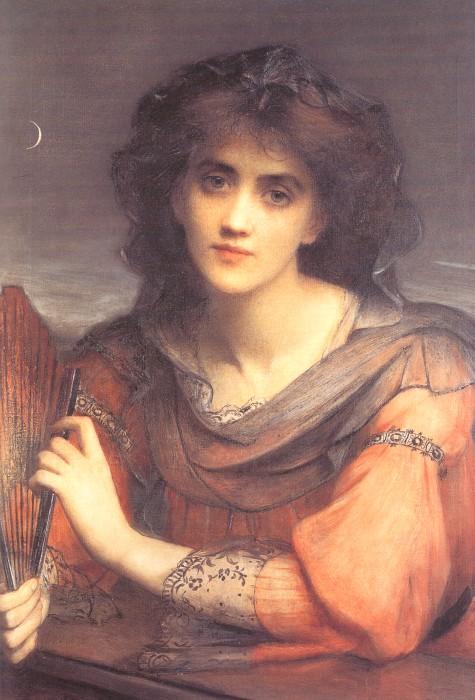 Luna   Edward Charles Halle   Oil Painting