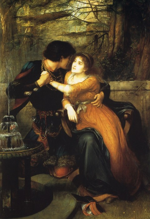 Paola And Francesca | Edward Charles Halle | Oil Painting