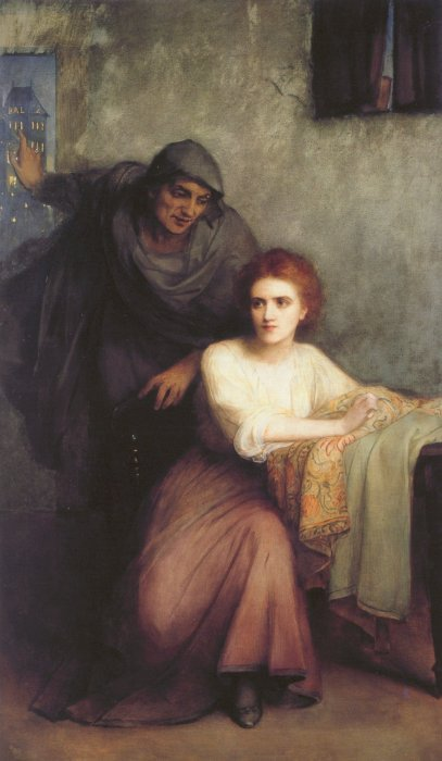 The Tempter 1909 | Edward Charles Halle | Oil Painting