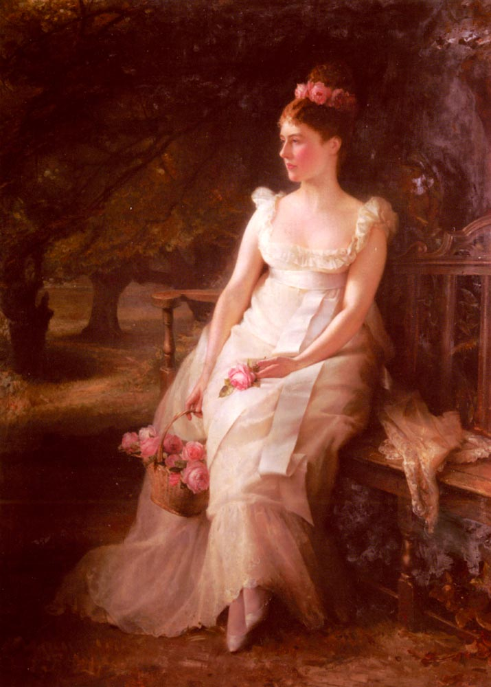 The Debutante | Edward Hughes | Oil Painting