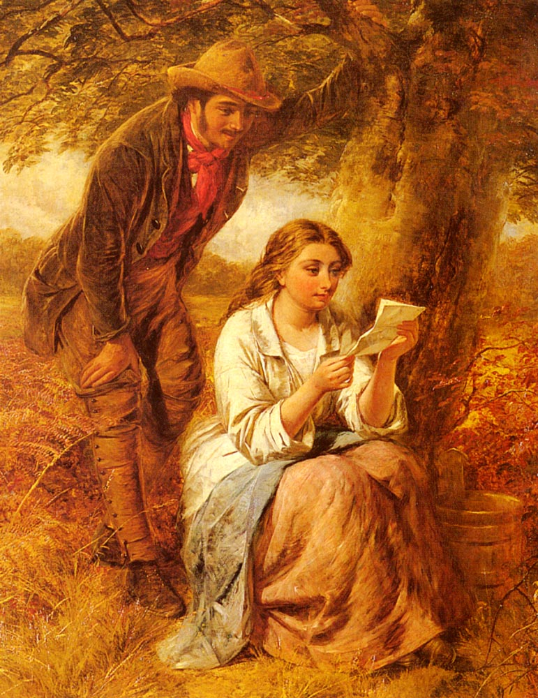 Happy Moments | Edward John Cobbett | Oil Painting