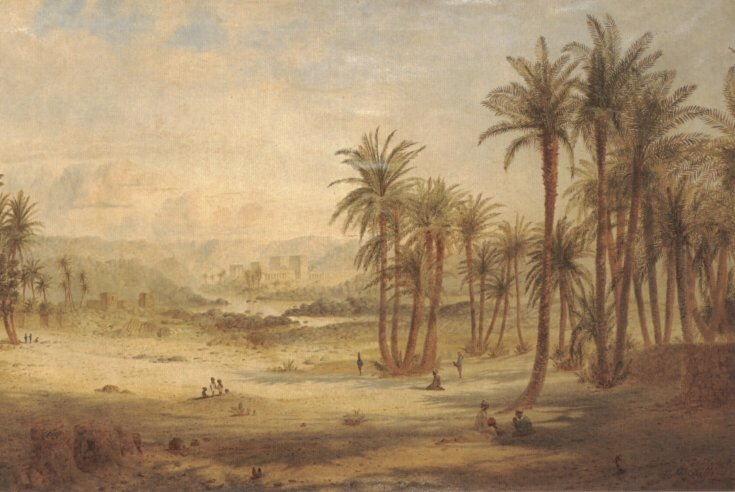 A View of Philae | Edward Lear | Oil Painting
