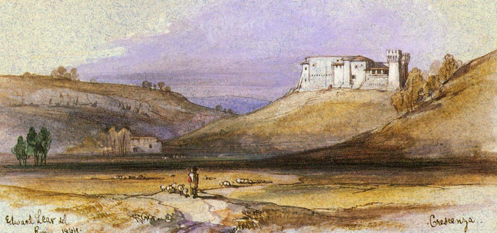 Crescenza | Edward Lear | Oil Painting