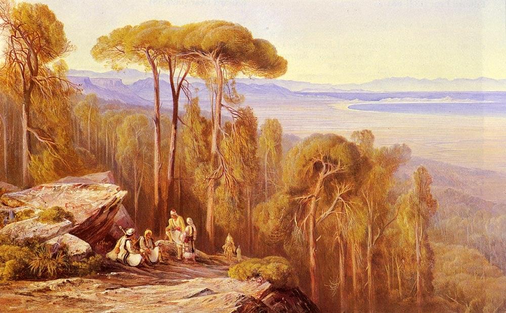 Marathon | Edward Lear | Oil Painting