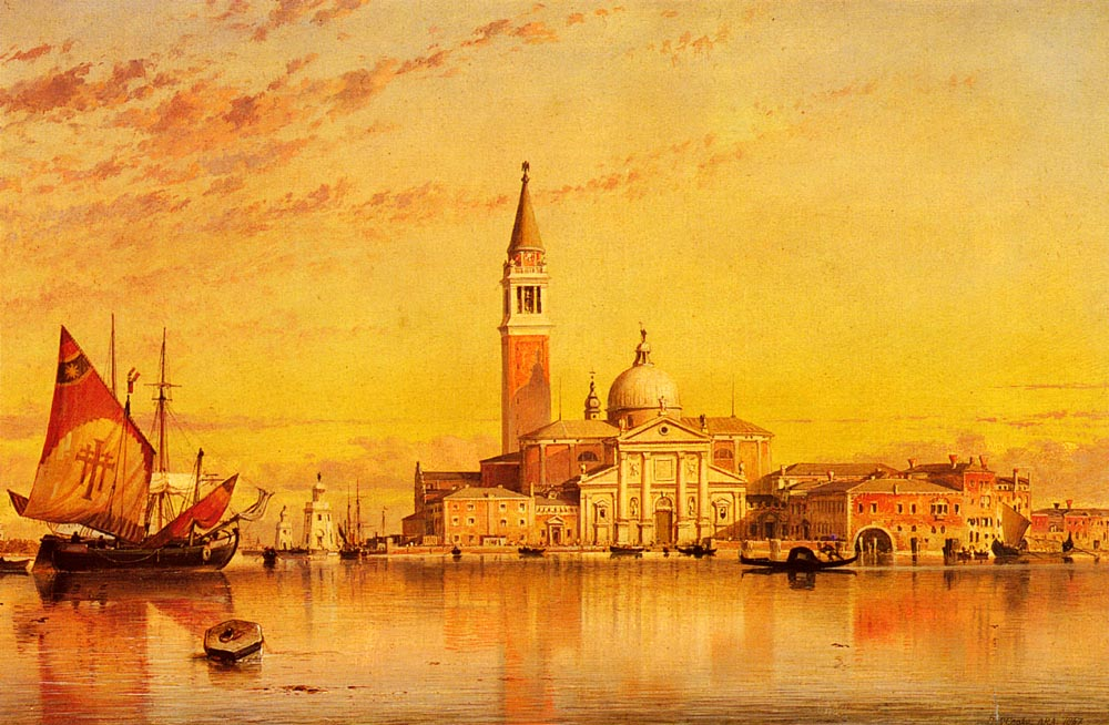 San Giorgio Maggiore Venice | Edward William Cooke | Oil Painting